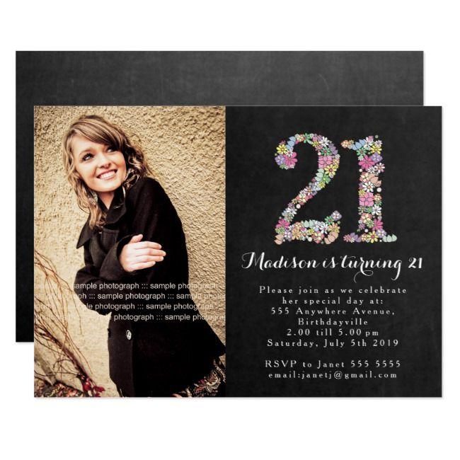 Create Your Own Invitation Zazzle Com 21st Birthday Invitations Birthday Party 21 Birthday Party Invitations