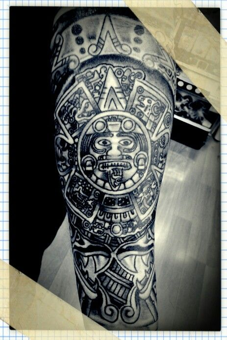 10 best aztec calendar images on pinterest aztec calendar aztec tattoo designs and icons. Black Bedroom Furniture Sets. Home Design Ideas