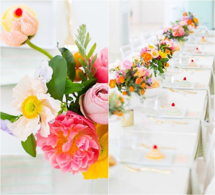 Centre De Table Floral Pour Mariage De Printemps Selon Les Tendances 2017 Mariage Fleuri Et