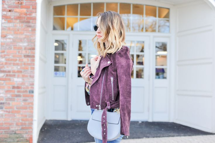 Style   Why You Should Invest in a Suede Jacket and How to Style it into Spring - Oh So Glam Blog