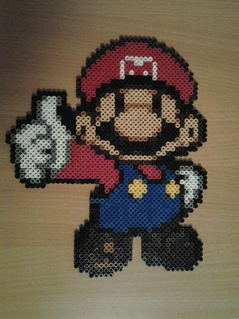 Mario hama perler beads by lulucreations | Flickr