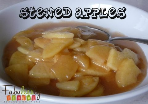 Stewed Apples Recipe