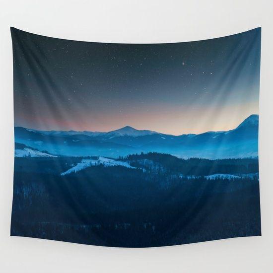 Magic mountains #society6#buyart Wall Tapestry