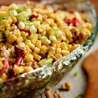 Corn Salad with Feta & Walnuts - Jill Bauer QVC