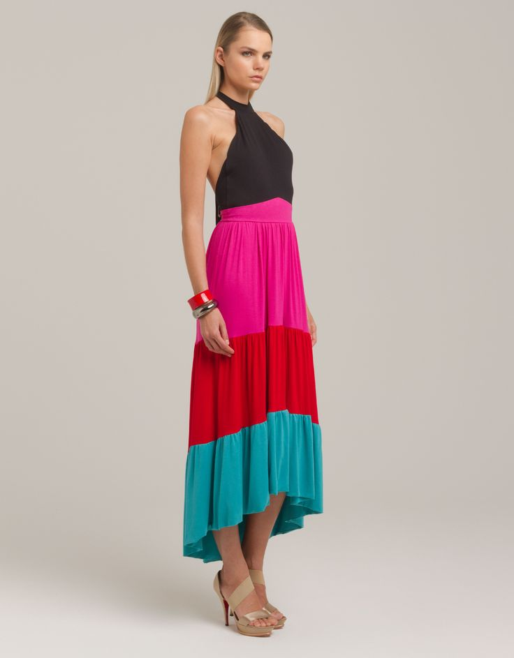 Neck tie dress by erikali for Maison Academia http://shop.maisonacademia.com/collections/spring-summer-2013/products/622