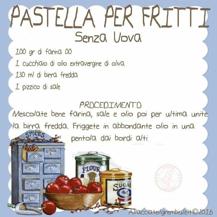 Pastella x fritti