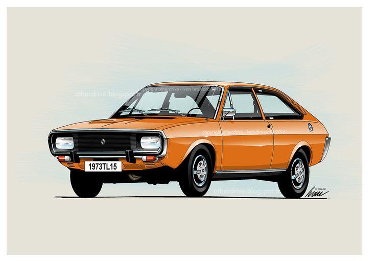 Renault 15 TL 1973
