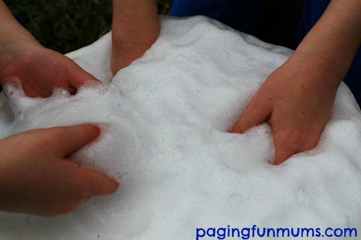 'Frozen' Erupting Snow!