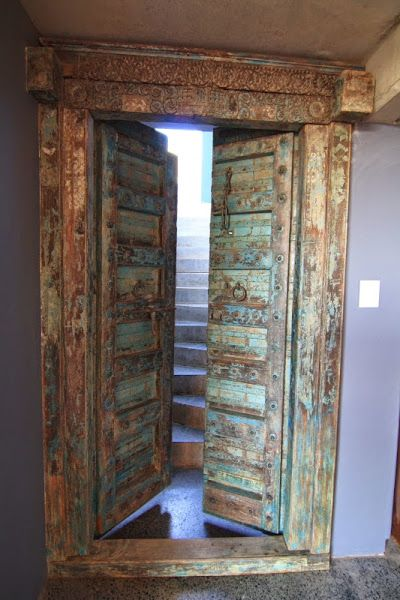 Antique Indian door