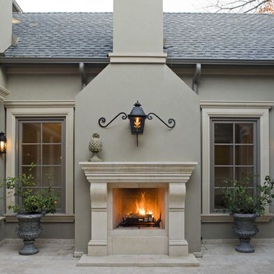 1000 ideas about country fireplace on pinterest cottage fireplace brick fireplace decor and - Exterior paint costs decor ...