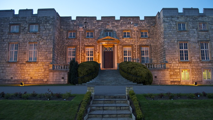 Hazelwood Castle Hotel - England. One of the coolest places I've spent the night!