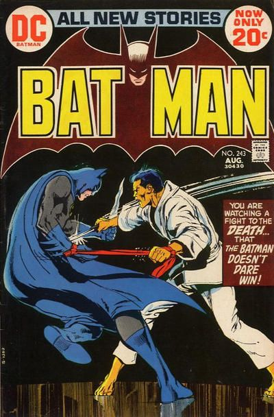 "Batman trains with a honor-bound fighter to ensure he has the upper hand. Now the Dark Knight, his ""Kato"" and a ""Bond Girl"" go off to challenge Ra's al Ghul and his guard dog Ubu too. This storyline has been reprinted multiple times, including ""Tales of the Demon"" and ""The Demon Awakes"" teepees and ""Limited Collectors Edition"" C-51 (a giant-sized comic - O'Neil/Adams is larger than life and must be seen that way to be believed)."