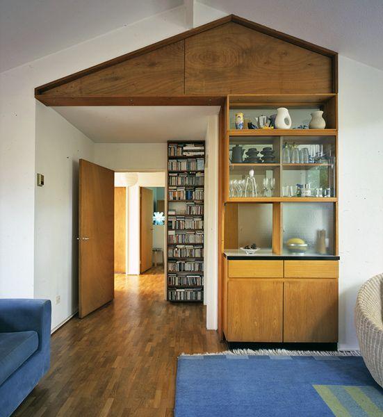 Span house interior, New Ash Green
