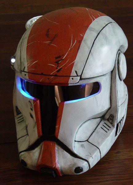 Boss Republic Commando Helmet by MyWickedArmor.deviantart.com on @deviantART
