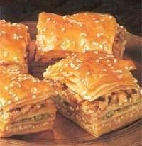 Delicious Georgian Cuisine: Pakhlava (Walnut Pastry)
