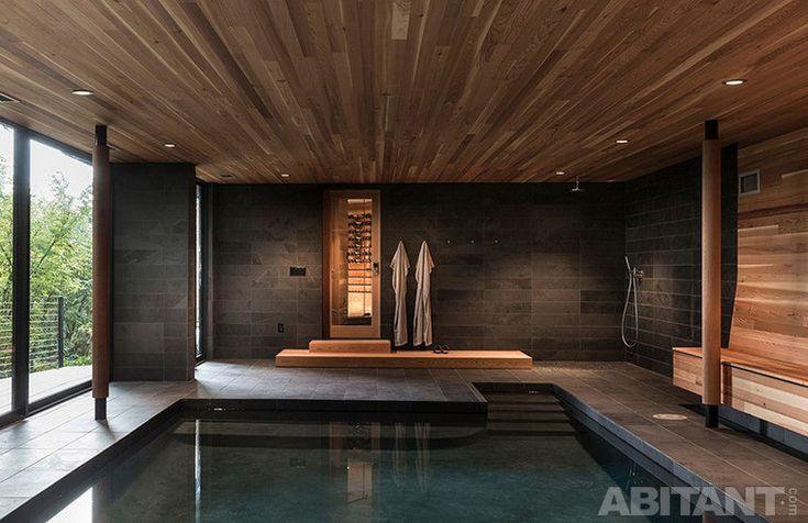 Интерьерные бассейны. Фотобрейк. Оригинальные дизайн-решения для домашних бассейнов.