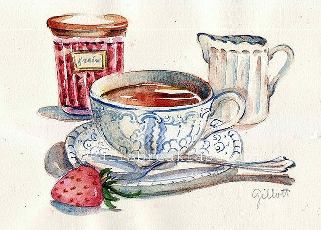 Downton Abbey Strawberry Tea | Flickr - Photo Sharing!