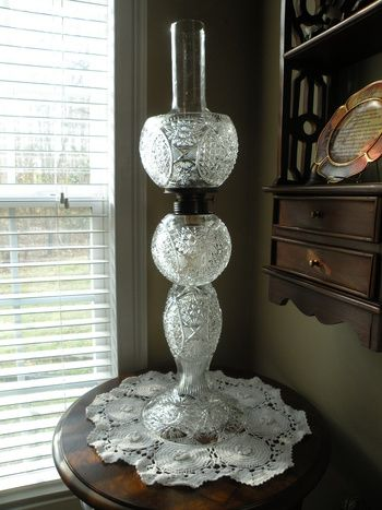 Crystal Oil Lamp | Collectors Weekly
