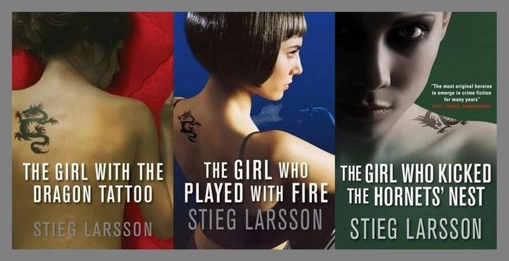 Stieg Larsson's Millenium Trilogy - Brilliant!