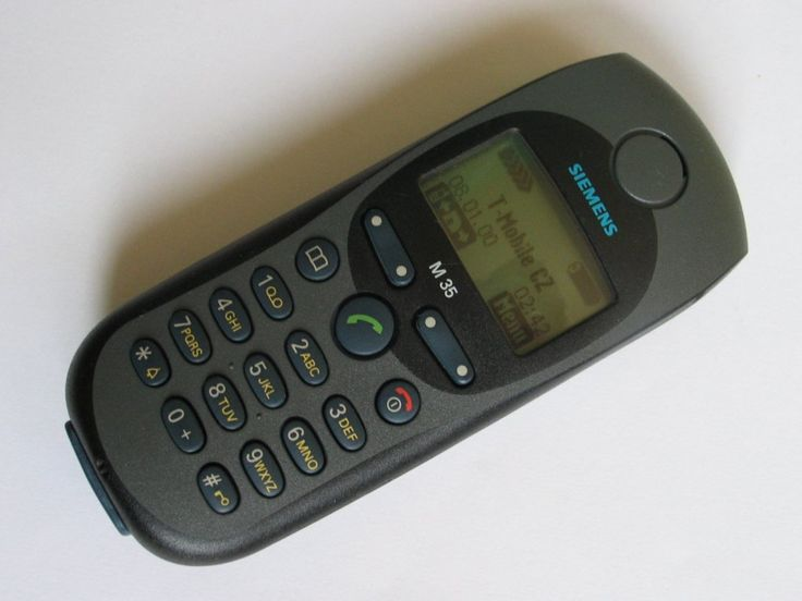 Siemens M35. Handphone jaman SMA
