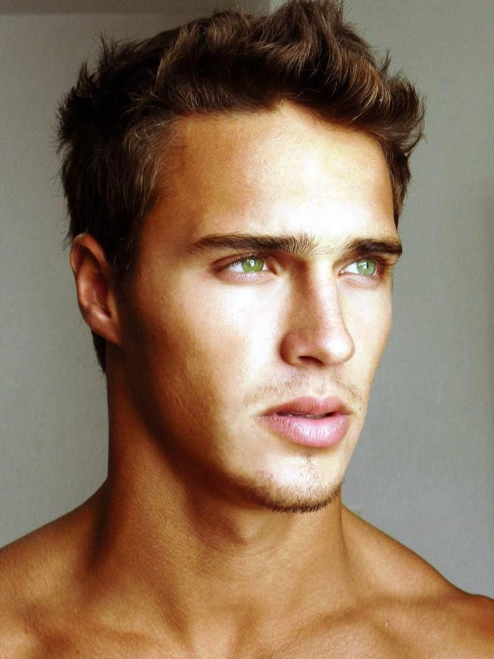 random handsome boy with stunning
