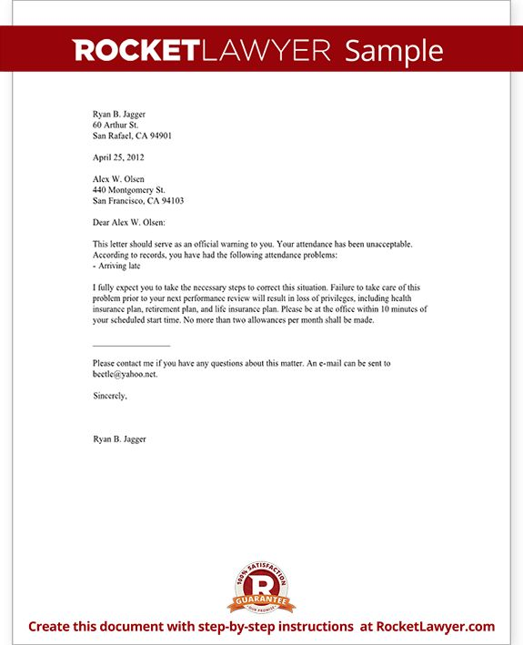 The 25+ best Sample of reference letter ideas on Pinterest - Warning Letter