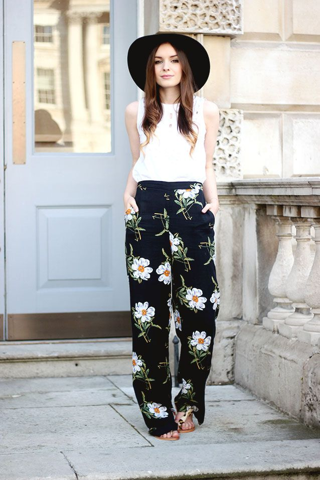 Wide leg pants are comfy & work to weekend appropriate.  They keep you cool in the summer - try wearing them over leggings for extra warmth in the Fall