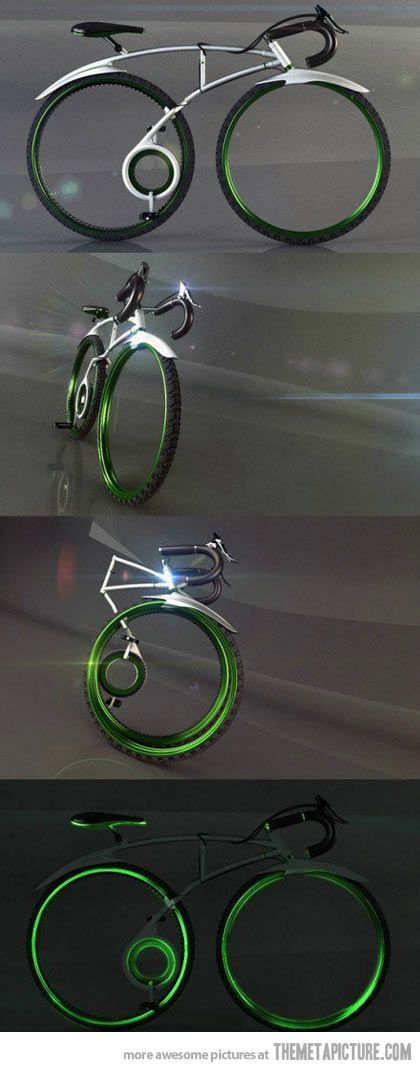 The coolest folding bicycle. These new bikes are so alien that it's now time for videos--so we can see how they operate, because this one's amazing.