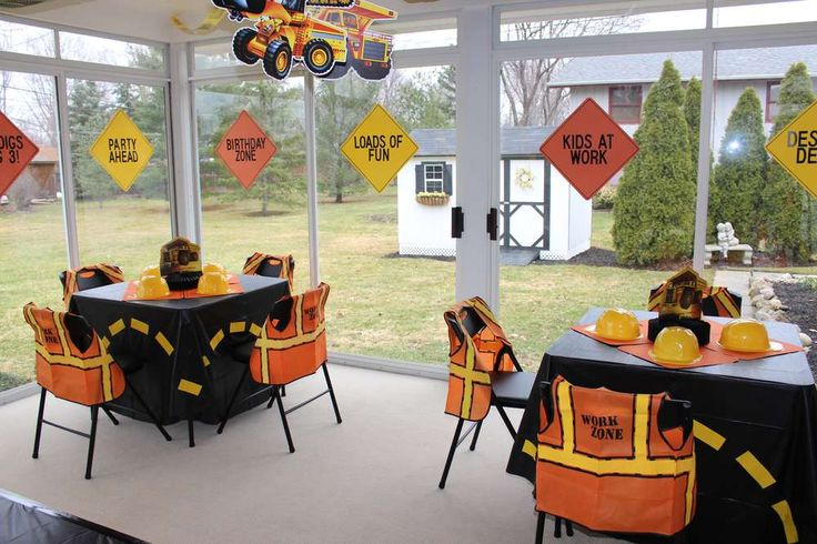 Dump Truck & Construction Party Birthday Party Ideas | Photo 20 of 24