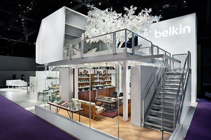 Exhibition Stand Las Vegas : Belkin ces trade show booth las vegas