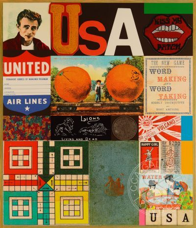USA Series-James Dean by Peter Blake