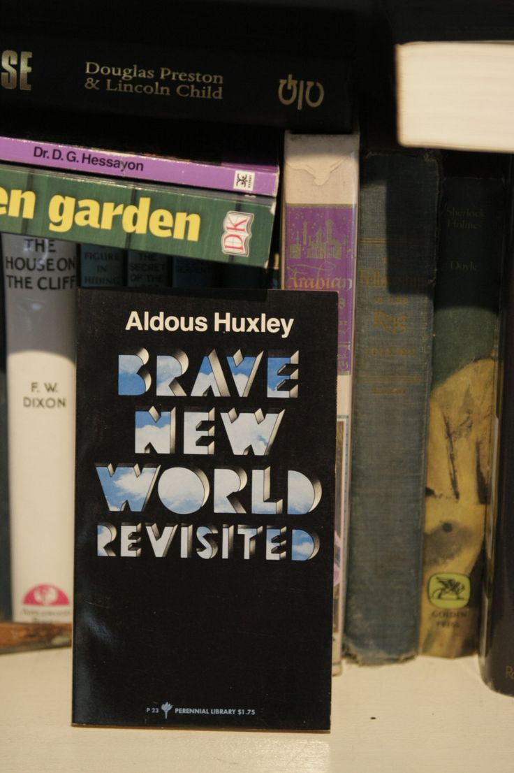 best ideas about brave new world huxley brave realistic fiction brave new world re ed by aldous huxley paperback novels books to syfy stories c 1969