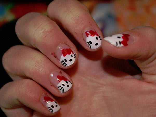 12 best hello kitty nail designs images on pinterest hello kitty awesome 26 overwhelming hello kitty nail designs prinsesfo Images
