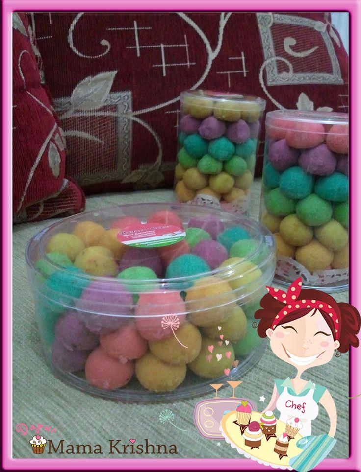 Rainbow Cookies tersedia dalam Toples HardTop 500gr