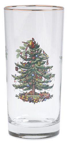 Spode Christmas Tree Hiball Glasses, Set of 4  http://www.fivedollarmarket.com/spode-christmas-tree-hiball-glasses-set-of-4-3/