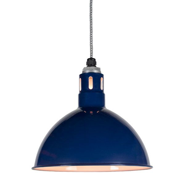 wesco vented deep bowl pendant light barn light electric