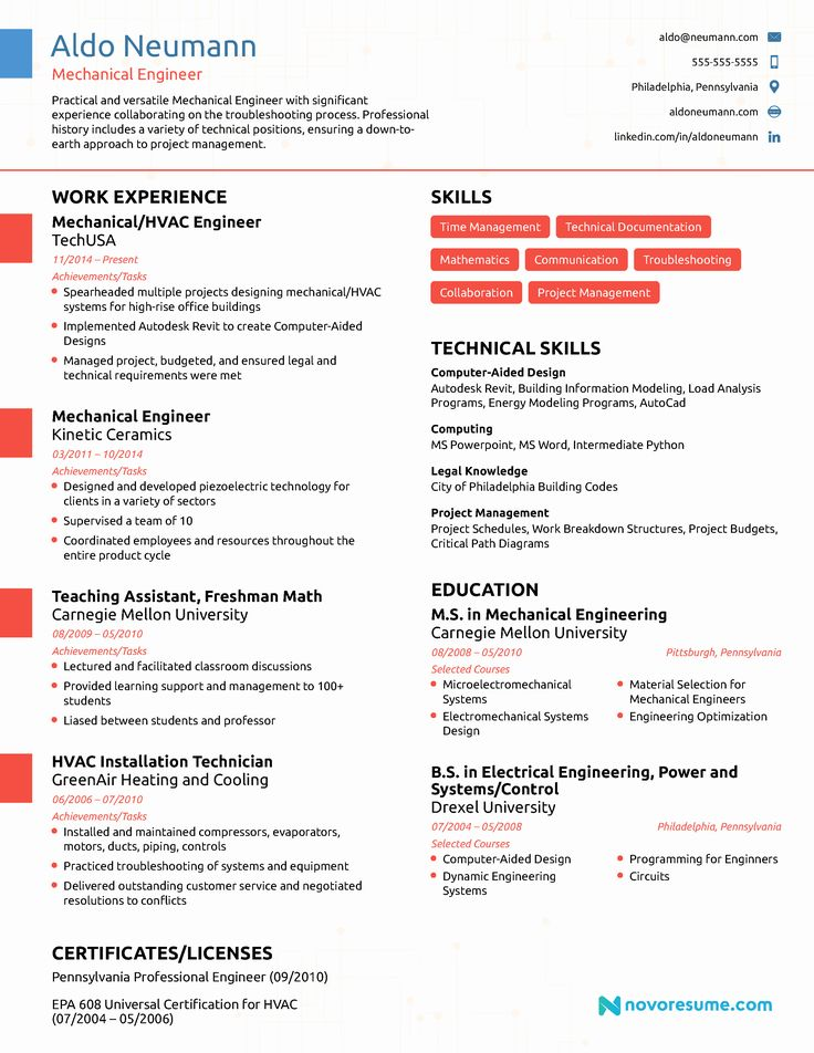 Entry level electrical engineer resume awesome 10 best
