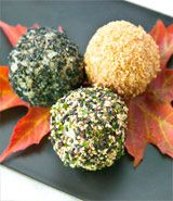 Rice Balls (Onigiri) - Sesame