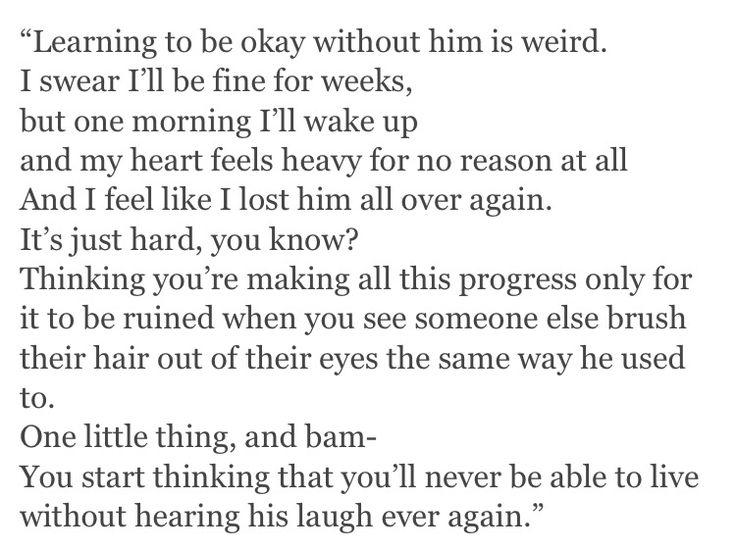 I'm okay, but I'm not okay