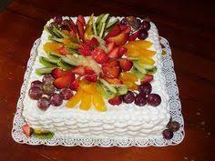 """Résultat de recherche d'images pour """"decoracion de pasteles cuadrados con frutas"""""""