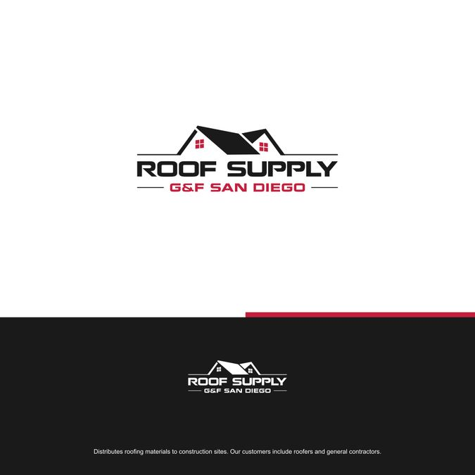 Roof Supply Gu0026F San Diego   Roofing Supply Company Needs A Strong Look To  Make A Bold Statement Distributes Roofing Materials To Construction Sites.