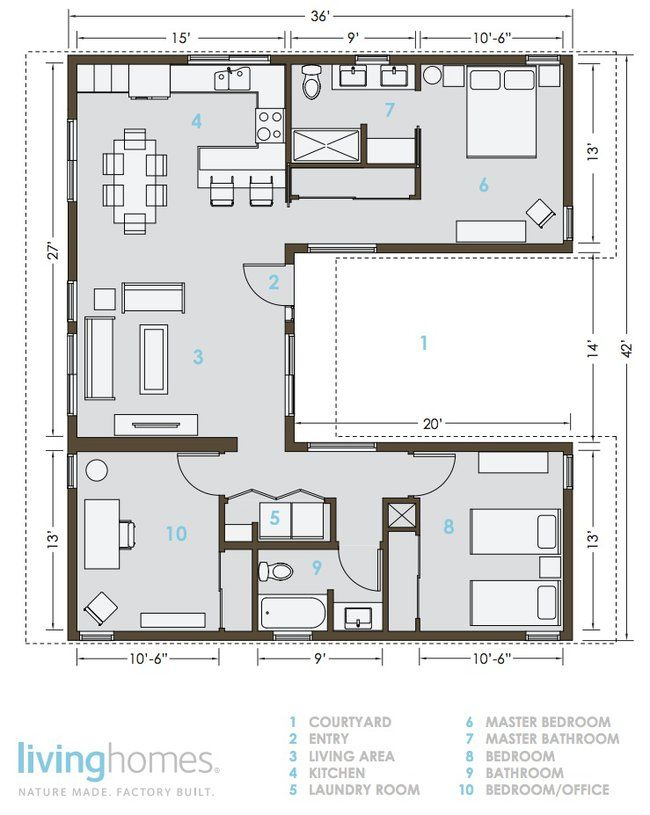 LivingHomes and Make It Right Introduce Affordable Green Prefab 1232 sq ft