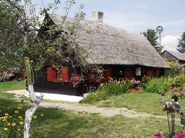 Zachowane chaty kociewskie w Jaszczerzu, Jaszczerku, Okarpcu, Osieku,