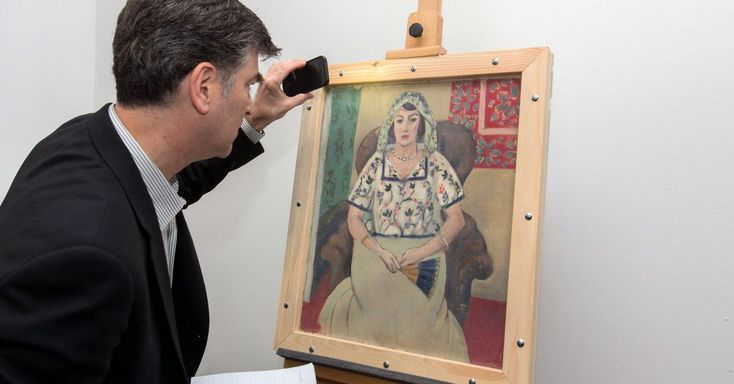 """Femme Assise,"" which was looted by the Nazis and discovered in the Munich apartment of Cornelius Gurlitt in 2012, has been returned to the descendants of Paul Rosenberg."