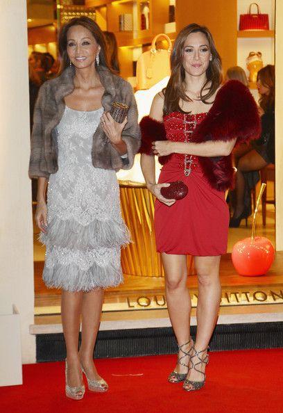 Tamara Falco e Isabel Preysler - Maison Louis Vuitton Roma Etoile Cocktail - Red Carpet