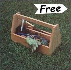 Wood Tool Caddy Plans - WoodWorking Projects & Plans