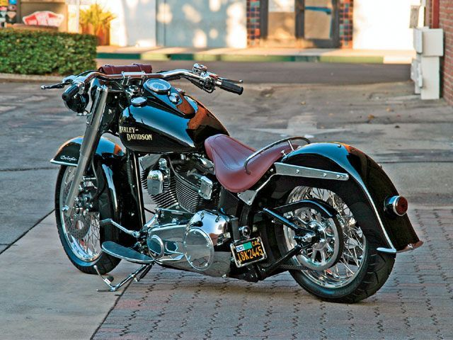 harley davidson deluxe...one day, you will be mine!