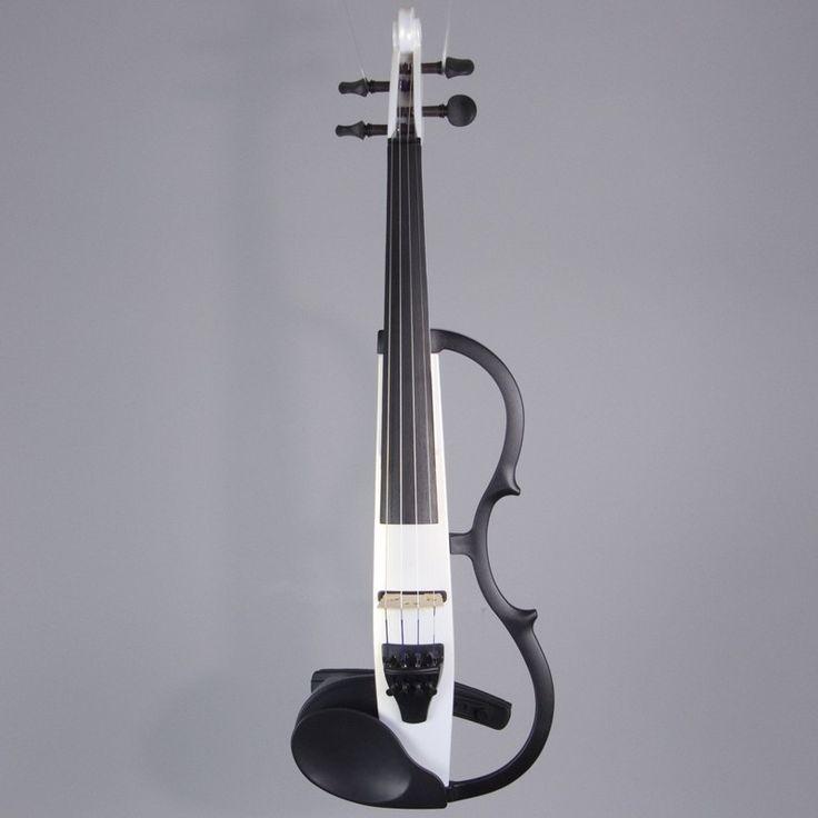 Yamaha SV-130 Violin, Pearl White