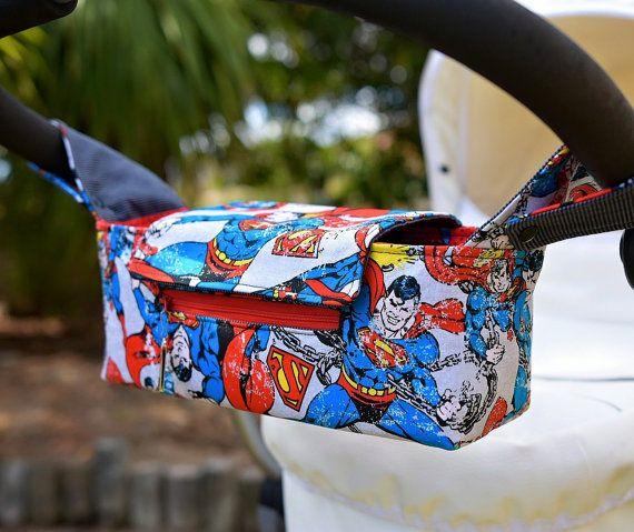 Pram Caddy/Pram Bag/Stroller Organiser/ by Muffyduckdesign on Etsy