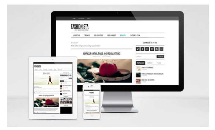 9 Free Fashion Blog Wordpress Theme